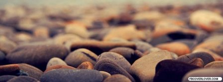 Summer Time Beach Stones Facebook Covers