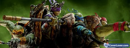 Teenage Mutant Ninja Turtles  Facebook Covers