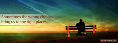 The Wrong Choices Facebook Covers