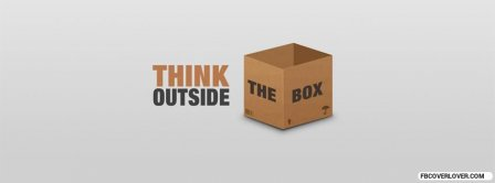 Think Outside Box Facebook Covers