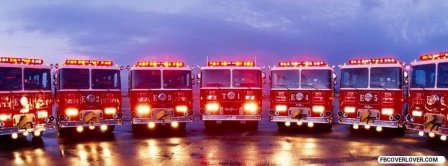 Truck Parade Firefighter Facebook Covers