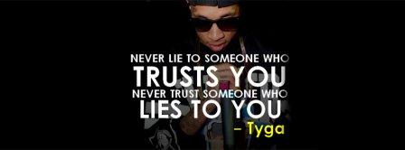 Tyga Quote Facebook Covers