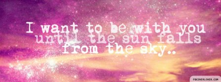 Until The Sun Falls Facebook Covers