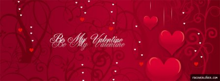 Be My Valentine Facebook Covers