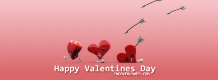 Valentines Day Arrow Facebook Covers