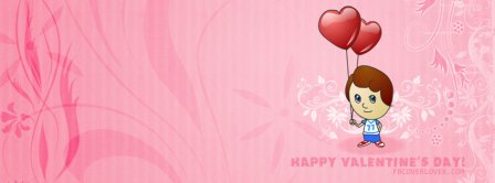 Valentines Day Cartoon Facebook Covers