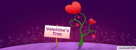 Valentines Tree Facebook Covers