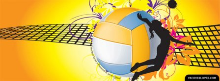 Volleyball 3 Facebook Covers