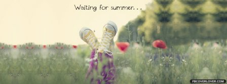 Waiting For Summer Facebook Covers
