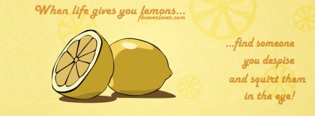 When Life Gives You Lemons  Facebook Covers