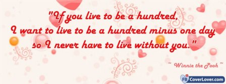 Winnie Pooh Life Quote Facebook Covers